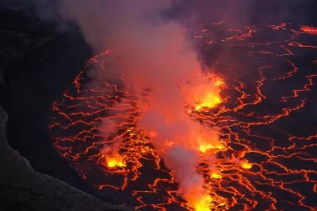 Volcán Nyiragongo